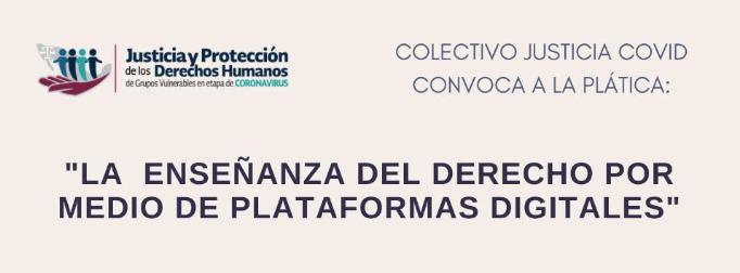 La enseñanza del derecho por medio de plataformas digitales (Webinar)